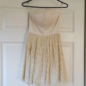 Delia's sweetheart neckline strapless dress